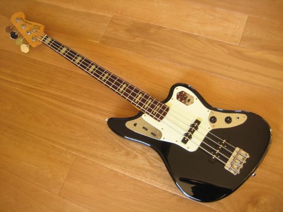 fender jaguar deluxe bass mij made in japan black. Black Bedroom Furniture Sets. Home Design Ideas