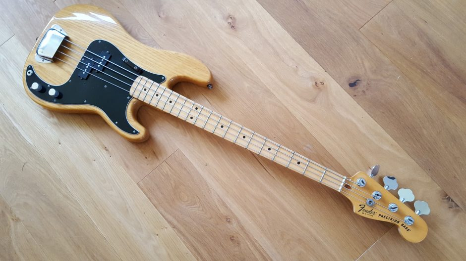 fender precision bass serial number guide