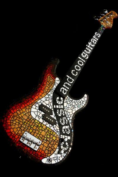 Classic and Cool Guitars_mosaic guitar