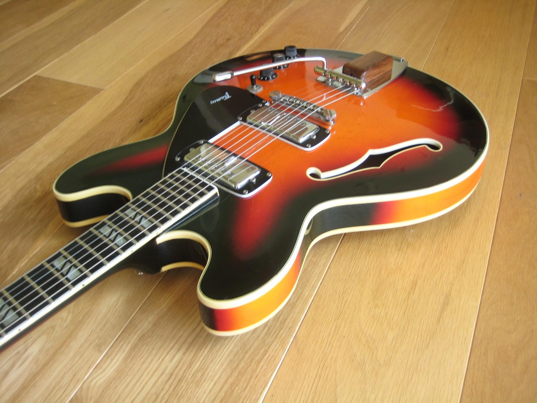 1972 Framus Billy Lorento Semi Acoustic Guitar Classic