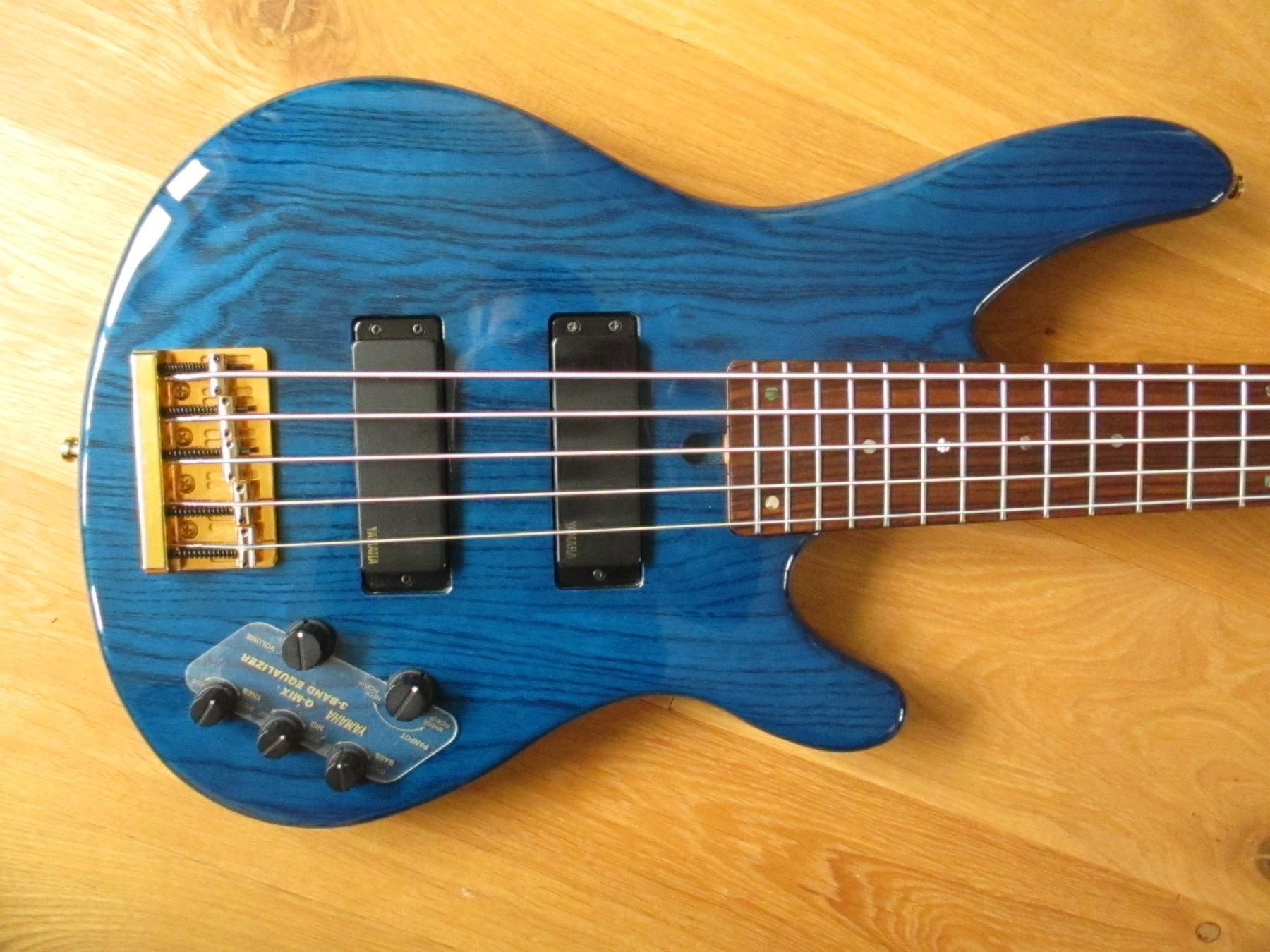 sold yamaha trb ii five string japan made bass classic cool guitars. Black Bedroom Furniture Sets. Home Design Ideas