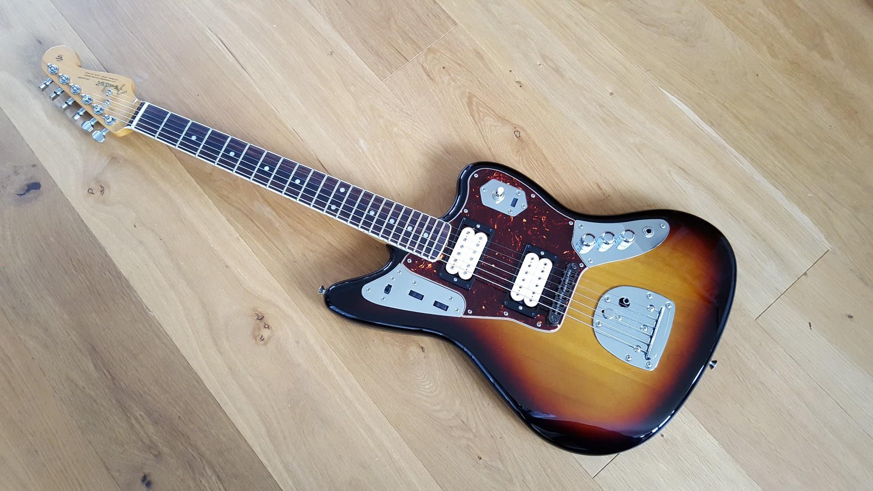 Sold Fender Jaguar Kurt Cobain Nos Sunburst Classic