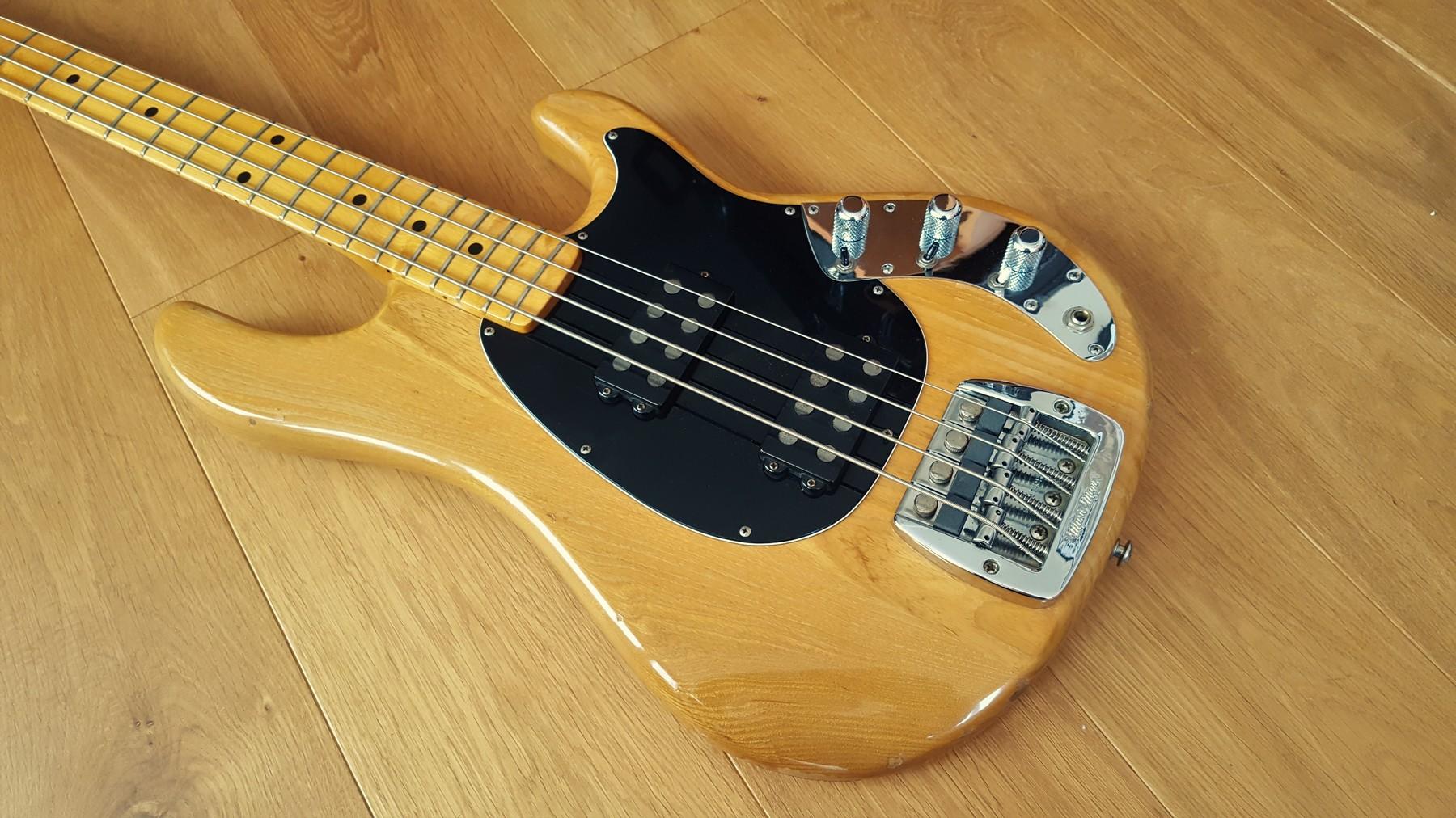 sold 1979 pre ernie ball musicman sabre bass classic cool guitars. Black Bedroom Furniture Sets. Home Design Ideas